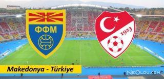Makedonya-Türkiye Maç Sonucu: 0-0
