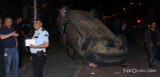 Niğde'de Otomobil Takla Attı: 2 Yaralı