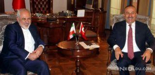 Çavuşoğlu İran Dışişleri Bakanı ile Görüştü