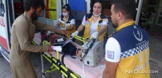 El Bab'da Patlayıcı İnfilak Etti: 2 Yaralı
