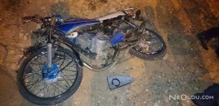 Motosiklet ile Minibüs Kazası: 1 Ölü,1 Yaralı