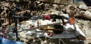 Hakkari'de Topraktan Makineli Silah Çıktı
