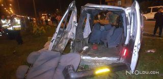 Kamyonet ile Servis Çarpıştı: 5 Ölü, 3 Yaralı