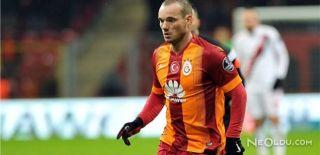 Galatasaray'da Sneijder Sorunu Bitmiyor!