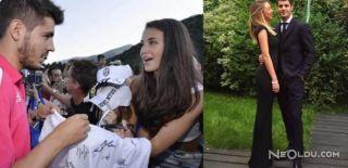 Real Madrid'li Alvaro Morata Hayranıyla Evlendi!