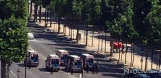 Paris'in Ünlü Meydanında Operasyon