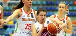 Kadın Basketbol Takımımız Belarus'u Yendi