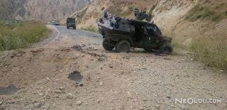 Askeri Konvoya Saldırı: 1 Şehit, 6 Yaralı