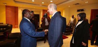 Başbakan Yardımcısı Kurtulmuş Kongo'ya Gitti