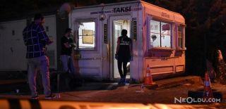 Ümraniye'de Taksi Durağına Silahlı Saldırı