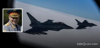 NATO Uçağı Rus Bakanının Uçağına Yanaştı!