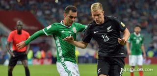Meksika, Yeni Zelanda'yı 2-1'le Geçti