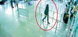 Kadın Terörist Havalimanında Yakalandı
