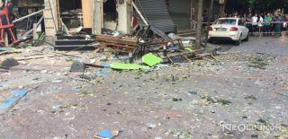 Bakırköy'de Bir İş Yerinde Tüpgaz Patladı