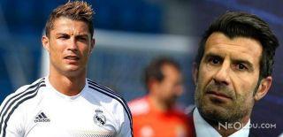 Figo'dan Takımı Bırakan Ronaldo'ya Şok Sözler