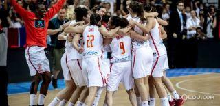 İspanya, Fransa'yı 71-55 mağlup etti