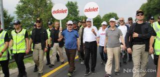 Abdüllatif Şener Yürüyüşe Katıldı