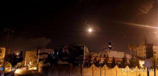 İsrail'den Gazze'ye Roket ve Topla Saldırı