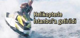 Ali Ağaoğlu Jetski ile Feci Kaza Yaptı