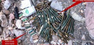 PKK'nın Mühimmatları Yakalandı