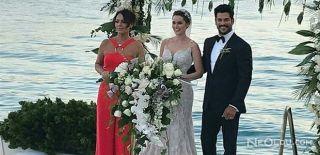 Fahriye ve Burak Evlendi! İşte O Görüntüler