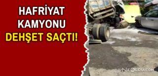 Beykoz'da Hafriyat Kamyonu Faciası