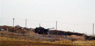 TSK Afrin'de PYD-YPG Mevzilerini Vurdu