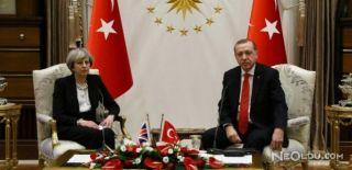 Erdoğan Theresa May ile Telefonda Görüştü