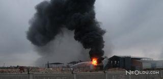 Adana'da Bir Kimyasal Fabrikada Patlama