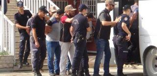 Yakalanan 5 Canlı Bomba Adliyeye Sevk Edildi