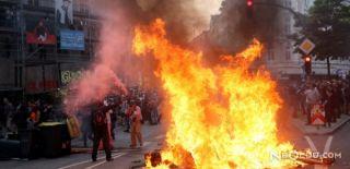 Hamburg'da Şiddet Olayları: 197 Polis Yaralı