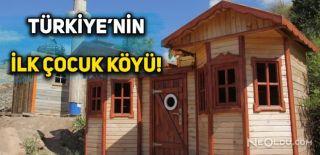 Türkiye'nin İlk Çocuk Köyü Sivas'ta Kuruldu