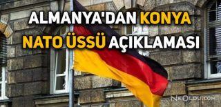 Alman Vekiller Konya Üssüne Gidecek
