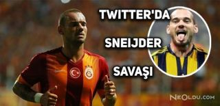 Taraftarlardan Twitter'da Sneijder Savaşı