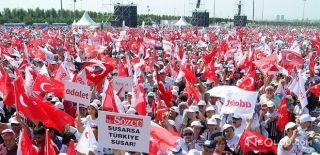 İstanbul Valiliği: Mitinge 175 Bin Kişi Katıldı