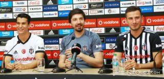 Beşiktaşlı Futbolcular Basın Toplantısı Düzenledi