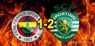 Sporting Lizbon-Fenerbahçe: 2-1