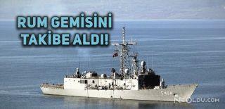 Türkiye Rumların Sondaj Gemisini Takibe Aldı