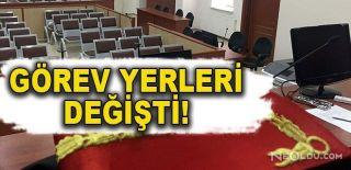 Tam 154 Hakimin Yeri Değiştirildi