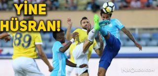 Fenerbahçe 3.Hazırlık Maçında Da Kaybetti
