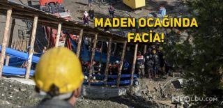 Gümüşhane'de Kömür Maden Ocağında Facia!