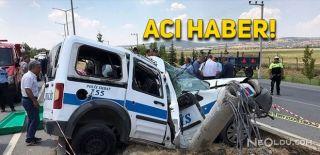 Uşak'ta Kaza Geçiren Polis Hayatını Kaybetti