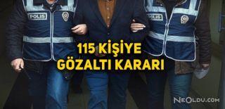 Tekirdağ'da ByLock'tan 115 Gözaltı