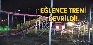 Lunapark'ta Feci Kaza 1 Ölü, 3 Yaralı