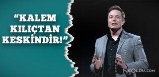 """Elon Musk """"Yapay Zeka En Büyük Tehlike"""" Dedi"""