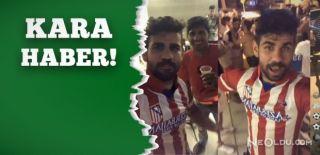 Diego Costa, Atletico Madrid Forması Giydi