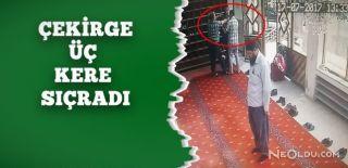 Camiye Dadanan Hırsız Böyle Yakalandı!