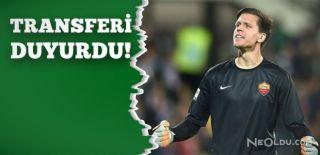 Szczesny, Juventus'a Transfer Oldu
