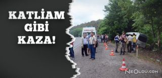 Minibüs Yoldan Çıktı: 1 Ölü 11 Yaralı