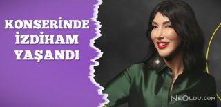 Hande Yener'in Konserine Yoğun İlgi